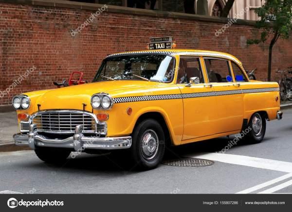Такси, ретро автомобиль – Стоковое редакционное фото ...