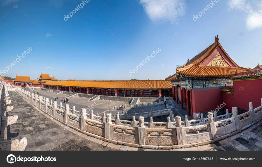 Beijing Palace Museum     Stock Photo      jingaiping  143667645 Beijing Palace Museum was established in October 10  1925  located in the  Forbidden City of Beijing Palace  It is the largest museum of Chinese  culture