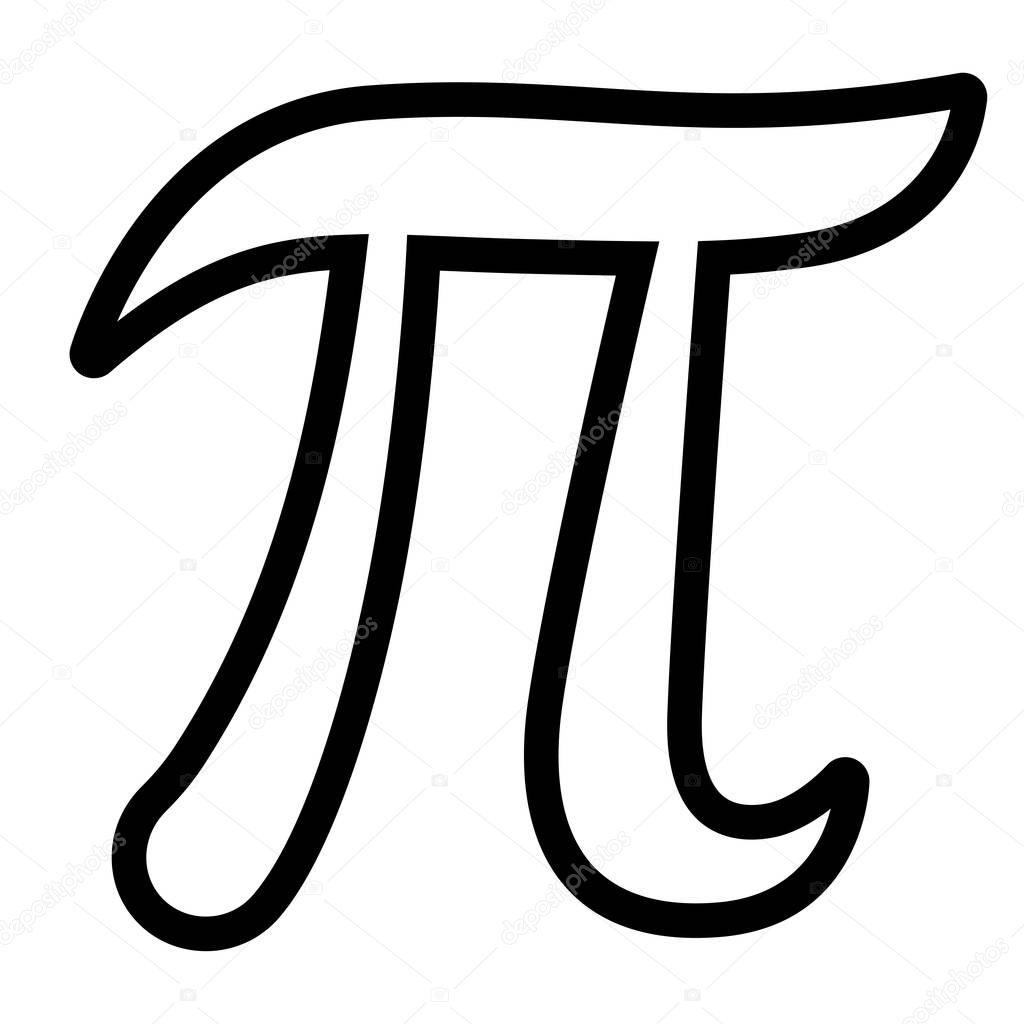Vector Simbolo Pi