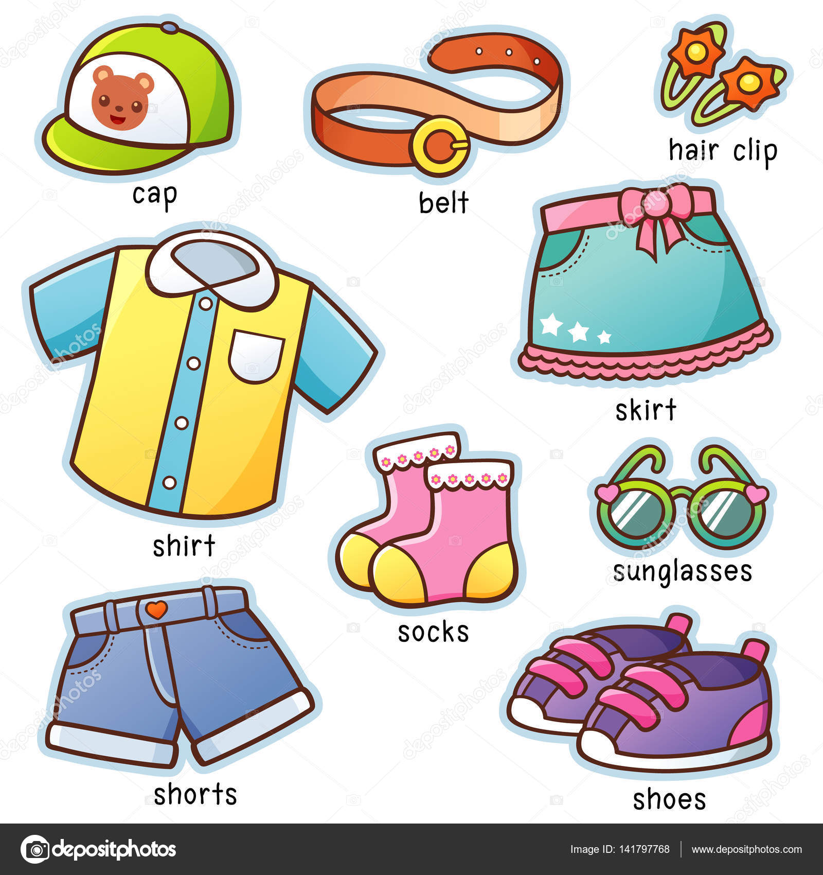 Images Cartoon Clothes