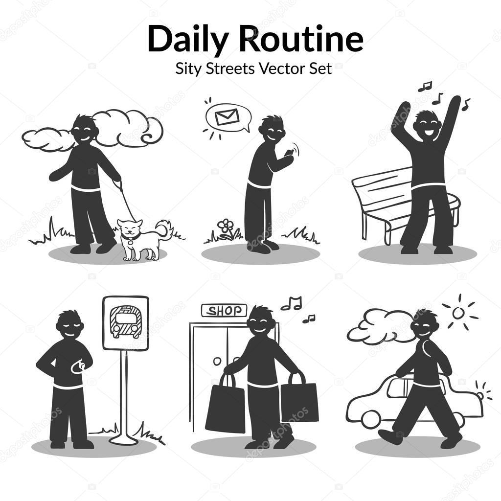 Conjunto De Atividades De Rotina Diaria