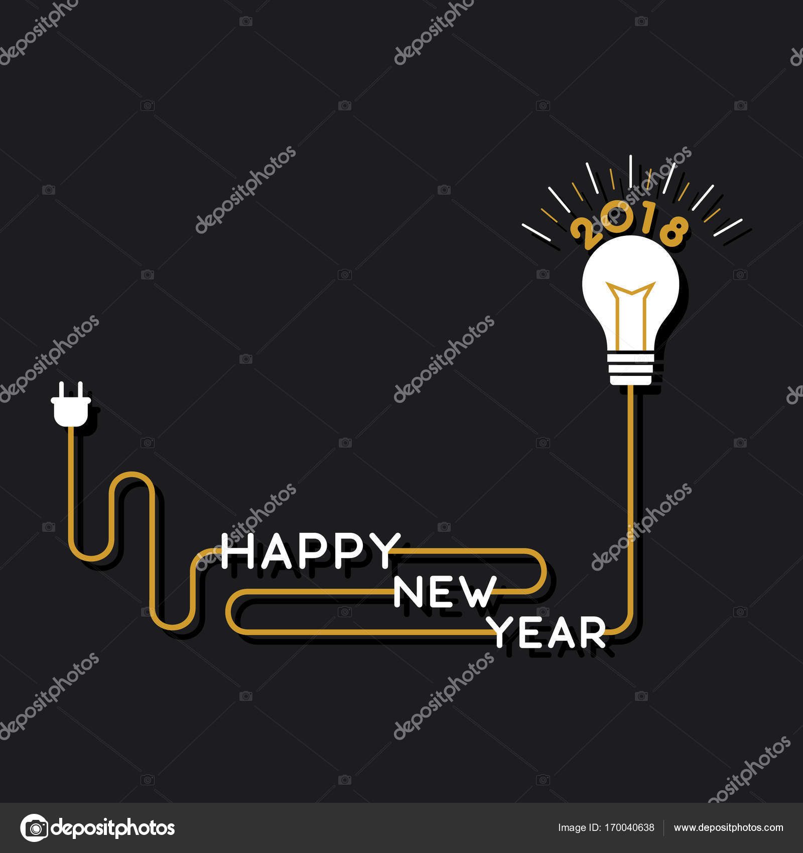 creative new year poster