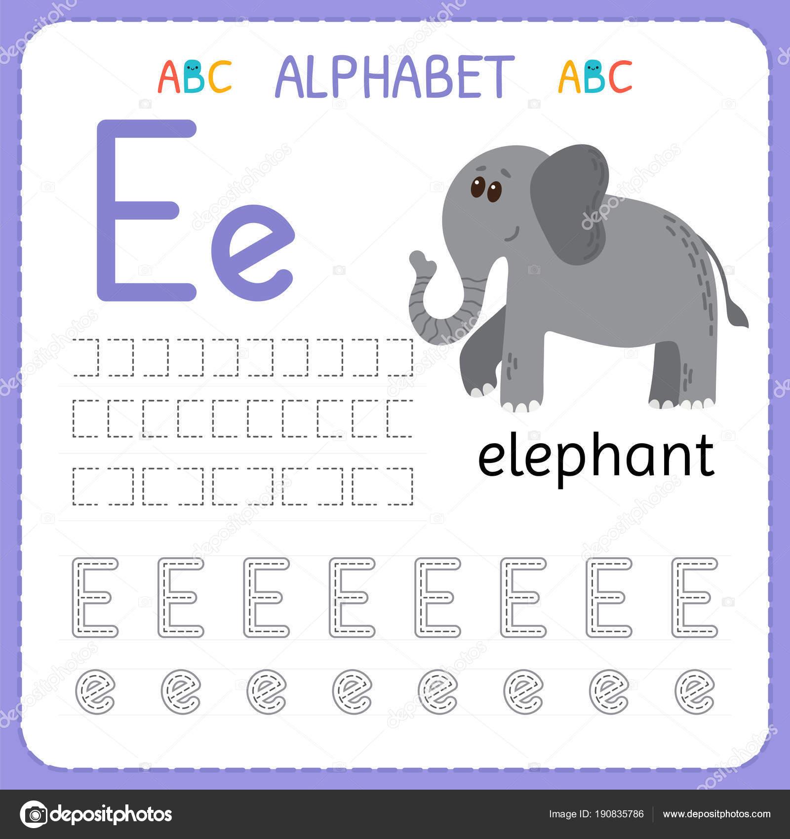 Planilha De Rastreamento De Alfabeto Para Pre Escola E
