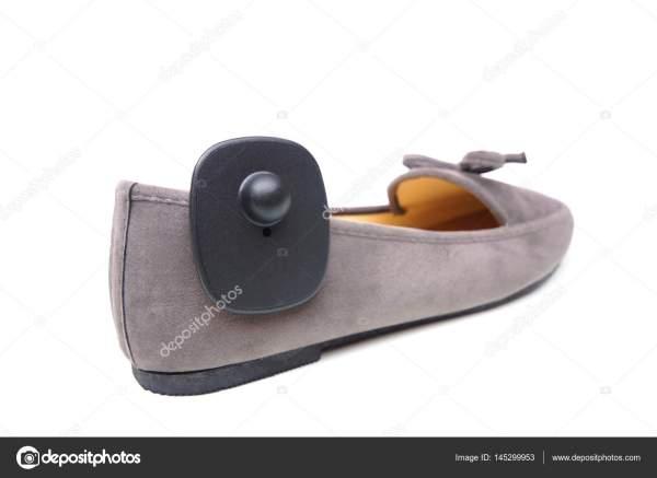 Метка RFID жесткий крепится на обуви — Стоковое фото ...