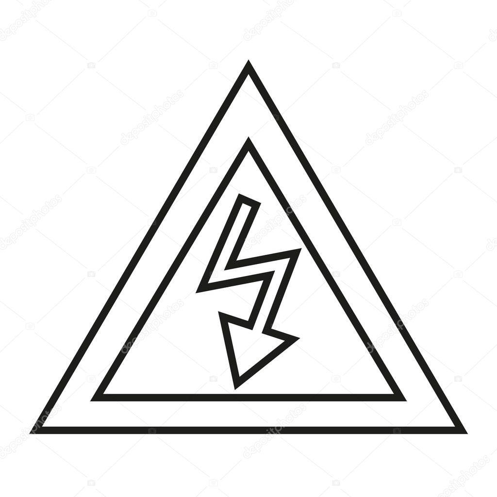 Basit Elektrik I Areti Simgesi