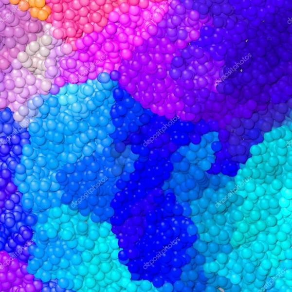 Много маленьких шариков текстуры картины фон - Неон полный ...