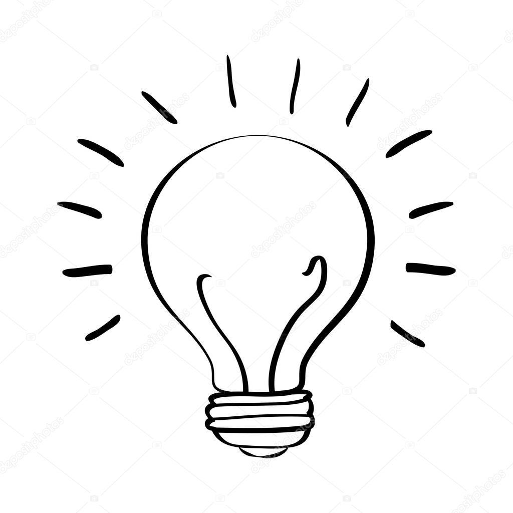 Lampe Licht Zeichnen