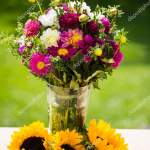 Images Fall Flowers Birthday Autumn Bouquet Autumn Flowers Green Background Birthday Bouqu Stock Photo C Munich1 167478432