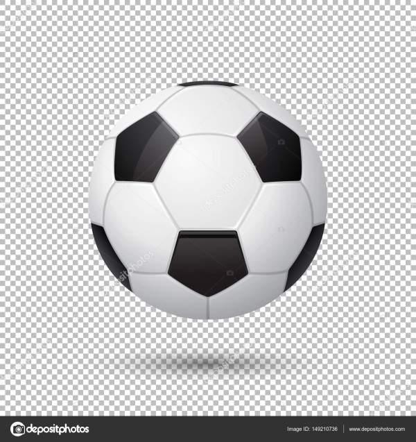 Картинка Футбольного Мяча На Прозрачном Фоне