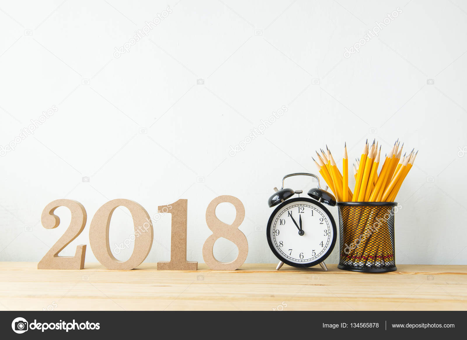 2018 happy new year background