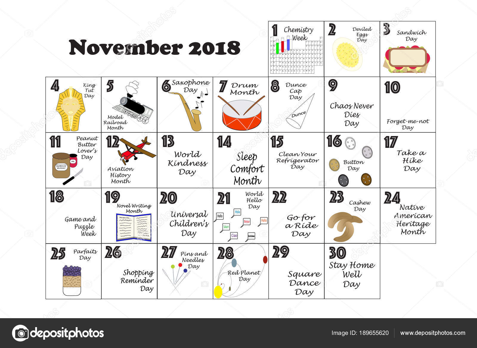 November Quirky Holidays And Unusual Events