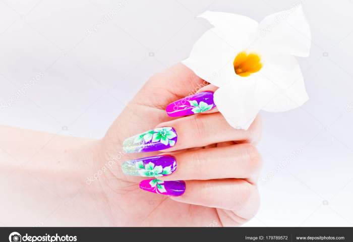Descargar Arreglos De Uñas Uñas Decoradas Con Arreglos Florales