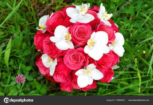 Свадебный Букет Цветов — Стоковое фото © vision.si #179666852