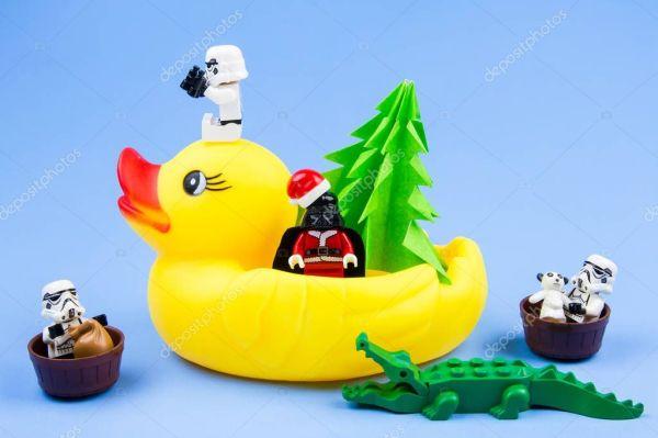 LEGO Звездные войны штурмовика и Lego Дарта Вейдера в ...