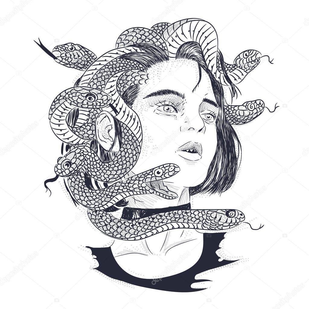Dibujos Serpiente Boceto