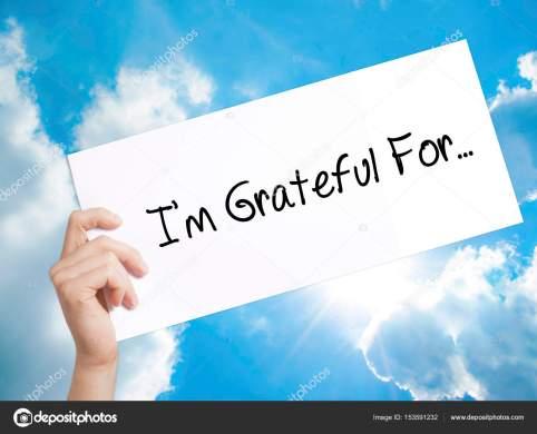 I'm Grateful For — Stock Photo