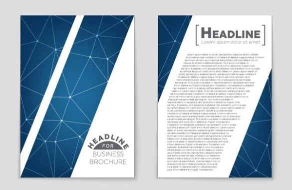 Abstract poster design  Set of brochure  flyer design templates with     Abstract vector layout background set  For art template design  list  front  page