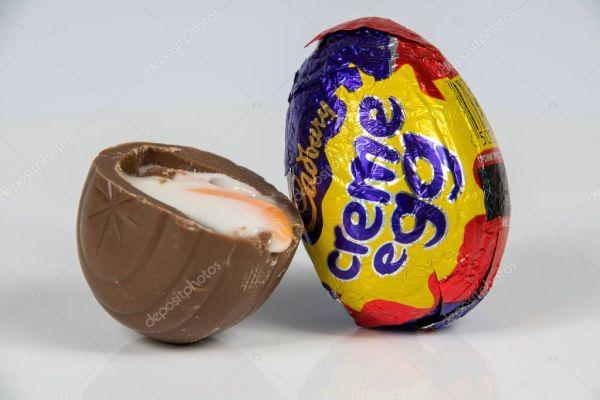 Кэдбери Creme яйцо – Стоковое редакционное фото ...
