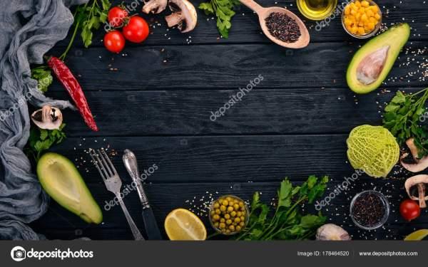 Подготовка Приготовления Пищи Авокадо Помидоры Черри ...