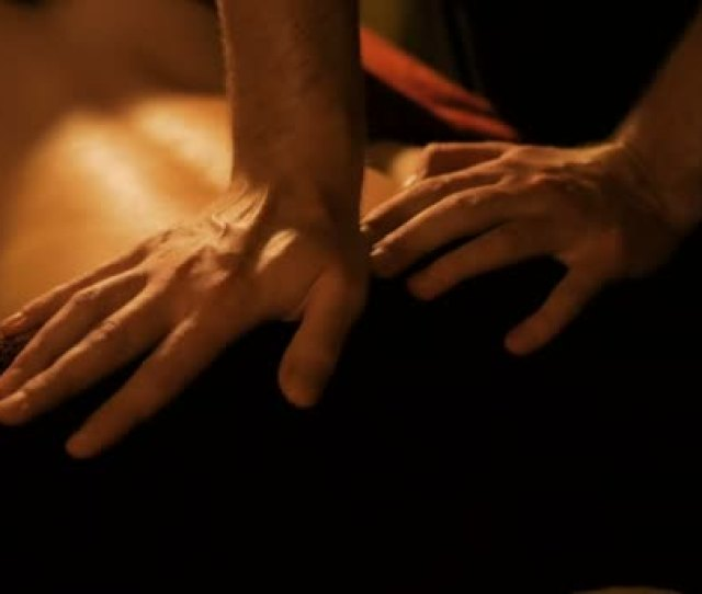 Body Massage And Spa Treatment In Modern Salon Stock Video