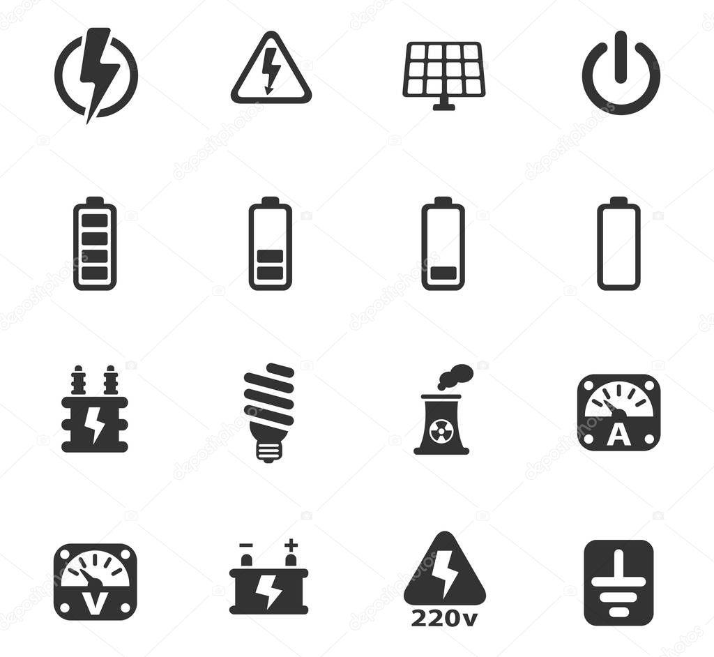 Strom Symbol Set
