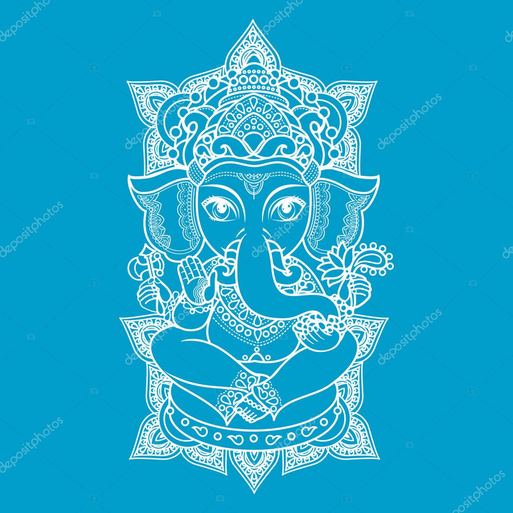 Lord Ganesha Vector Illustration Of Colorful Happy Lord Ganesh For Ganpati Chaturthi Premium Vector In Adobe Illustrator Ai Ai Format Encapsulated Postscript Eps Eps Format