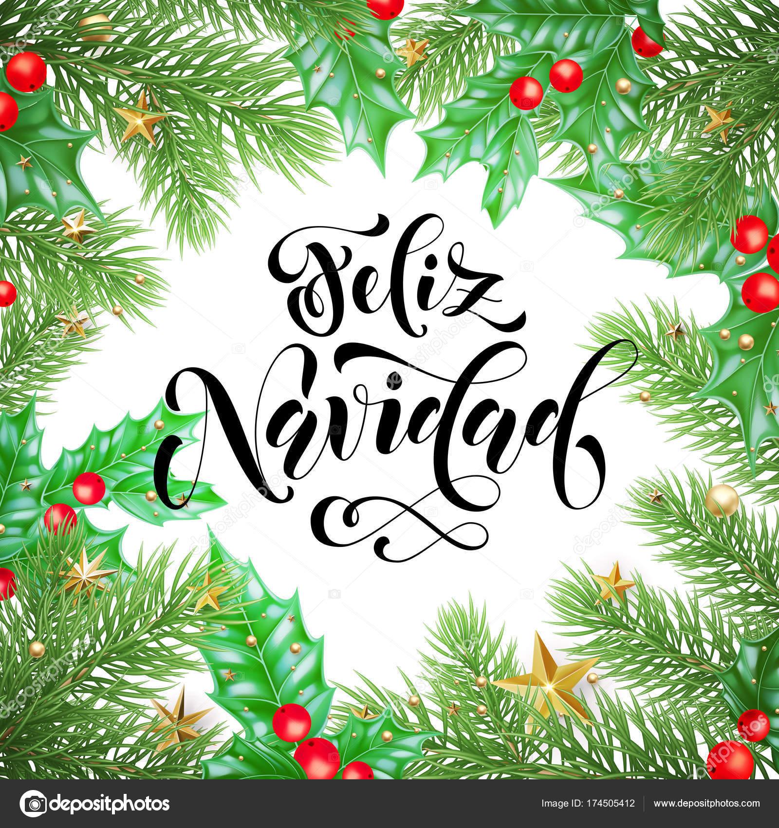 Feliz Navidad Garland