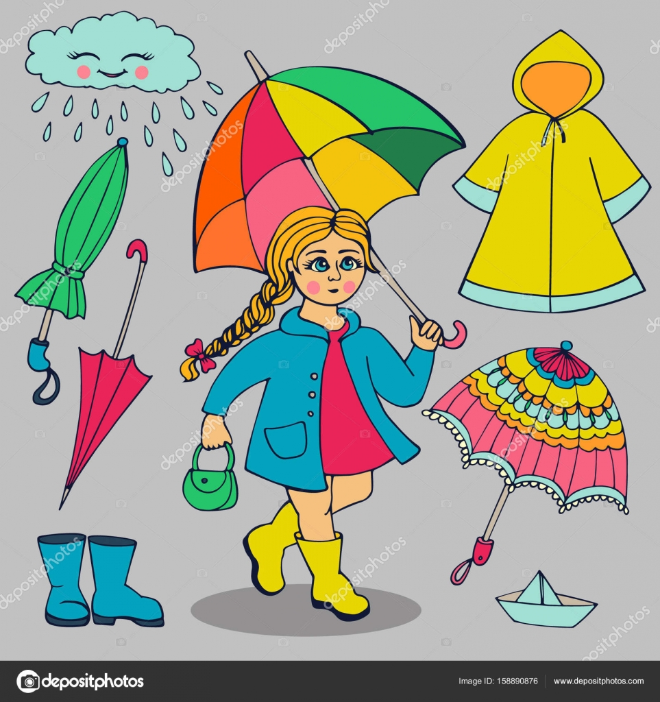 Picture Of Rainy Season Clothes