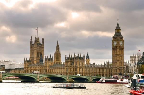 Будинки парламенту та Біг-Бен — Стокове фото © pljvv1 #5667656