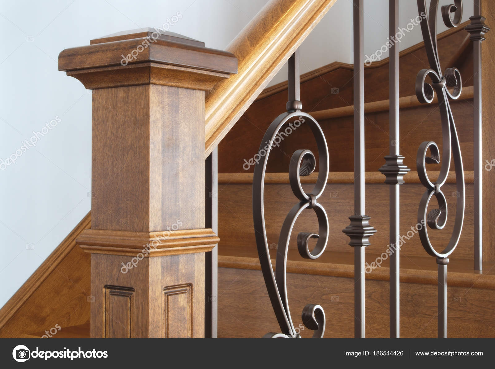 Pictures Wooden Handrails Wood Stairs Newel Handrail Staircase | Wooden Handrails For Steps | Iron | Different Kind Wood | Wood Patio | Rustic | Staircase Wooden