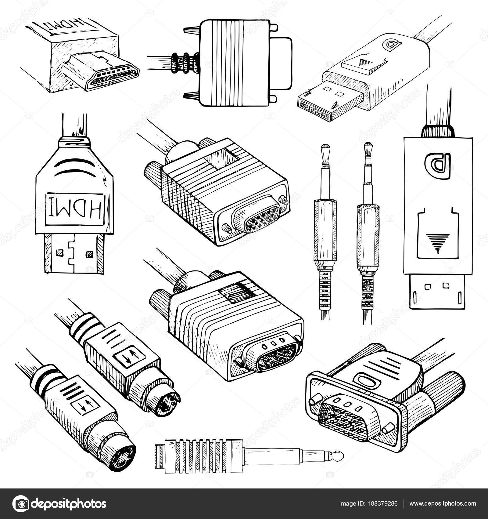 wiring diagram of hdmi cable