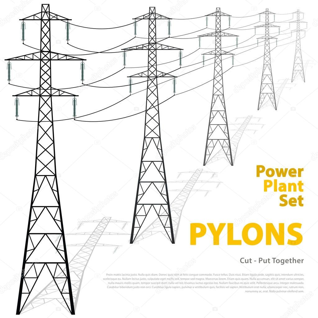 Torres Electricas 3d