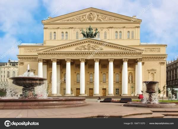 Большой театр, Москва, Россия — Стоковое фото © Irusetka ...