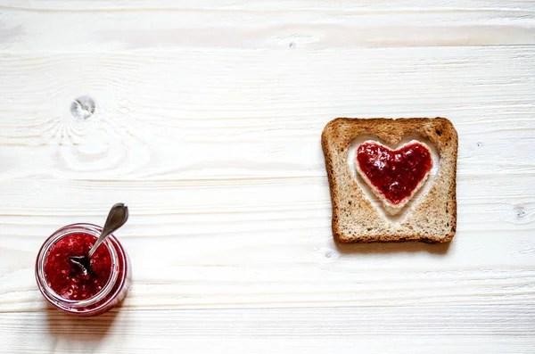 Люблю печенье с серая ткань — Стоковое фото © belchonock ...