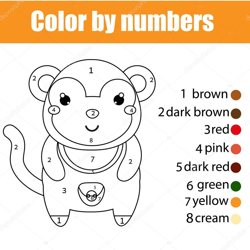Images Monkey To Color