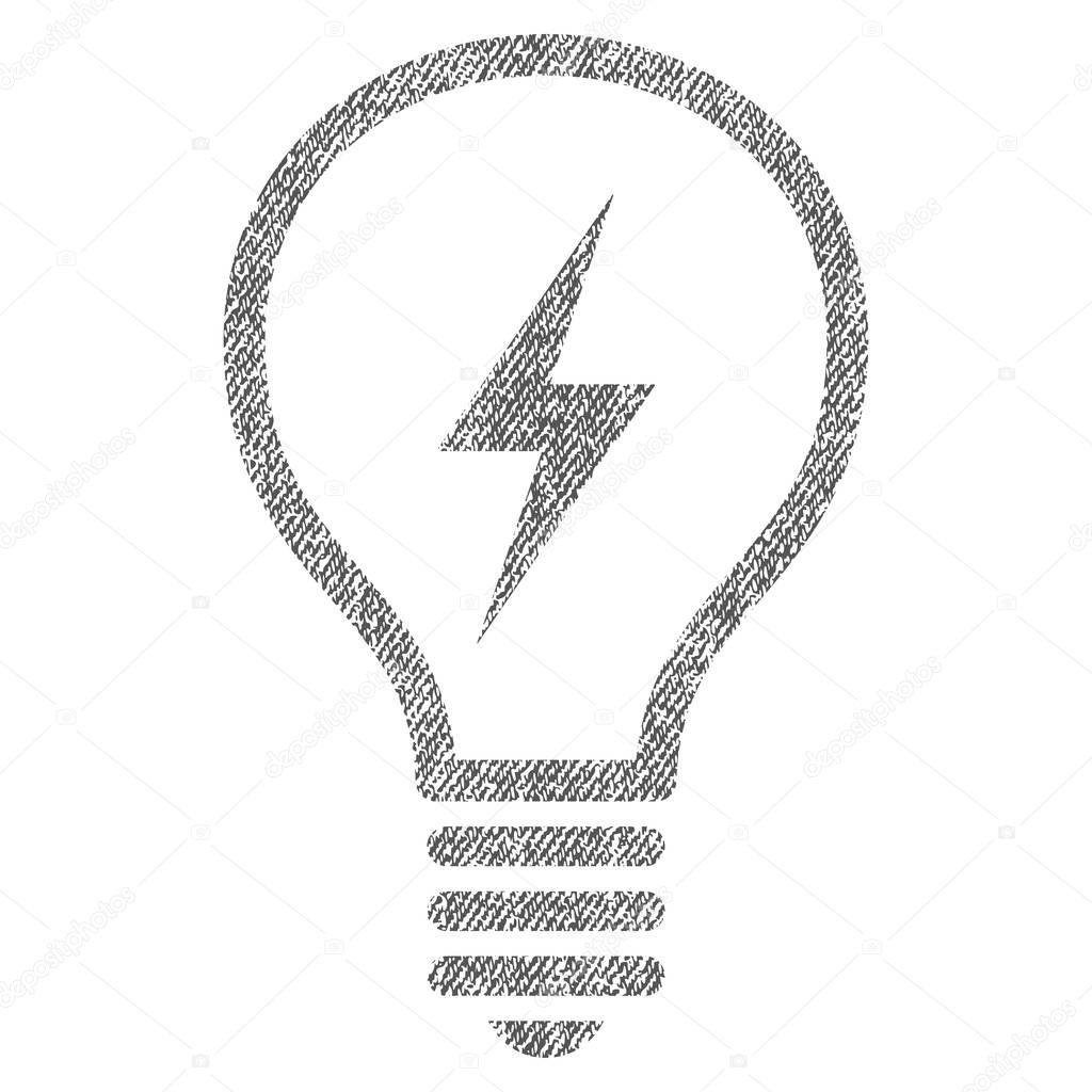 Illa Electrica Tela Textura Icono