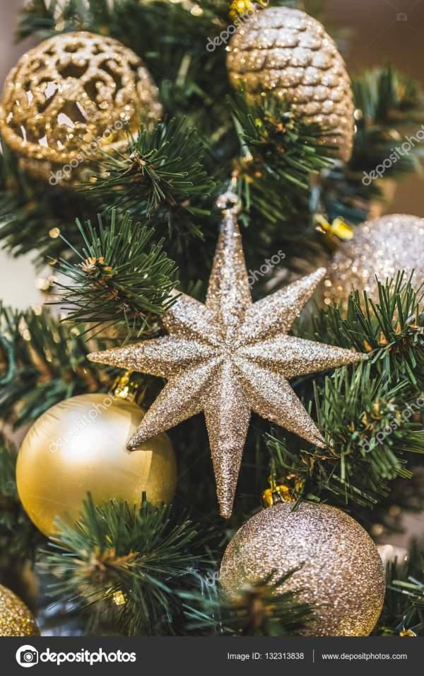 художественные оформления рождественской елки — Стоковое ...
