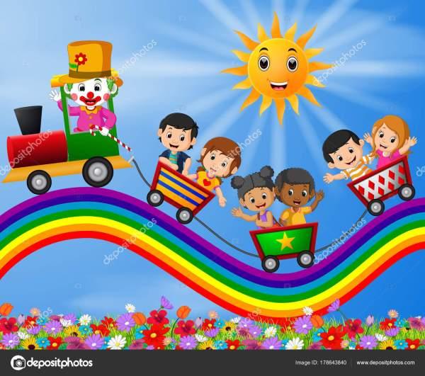 Детская Картинка Поезд
