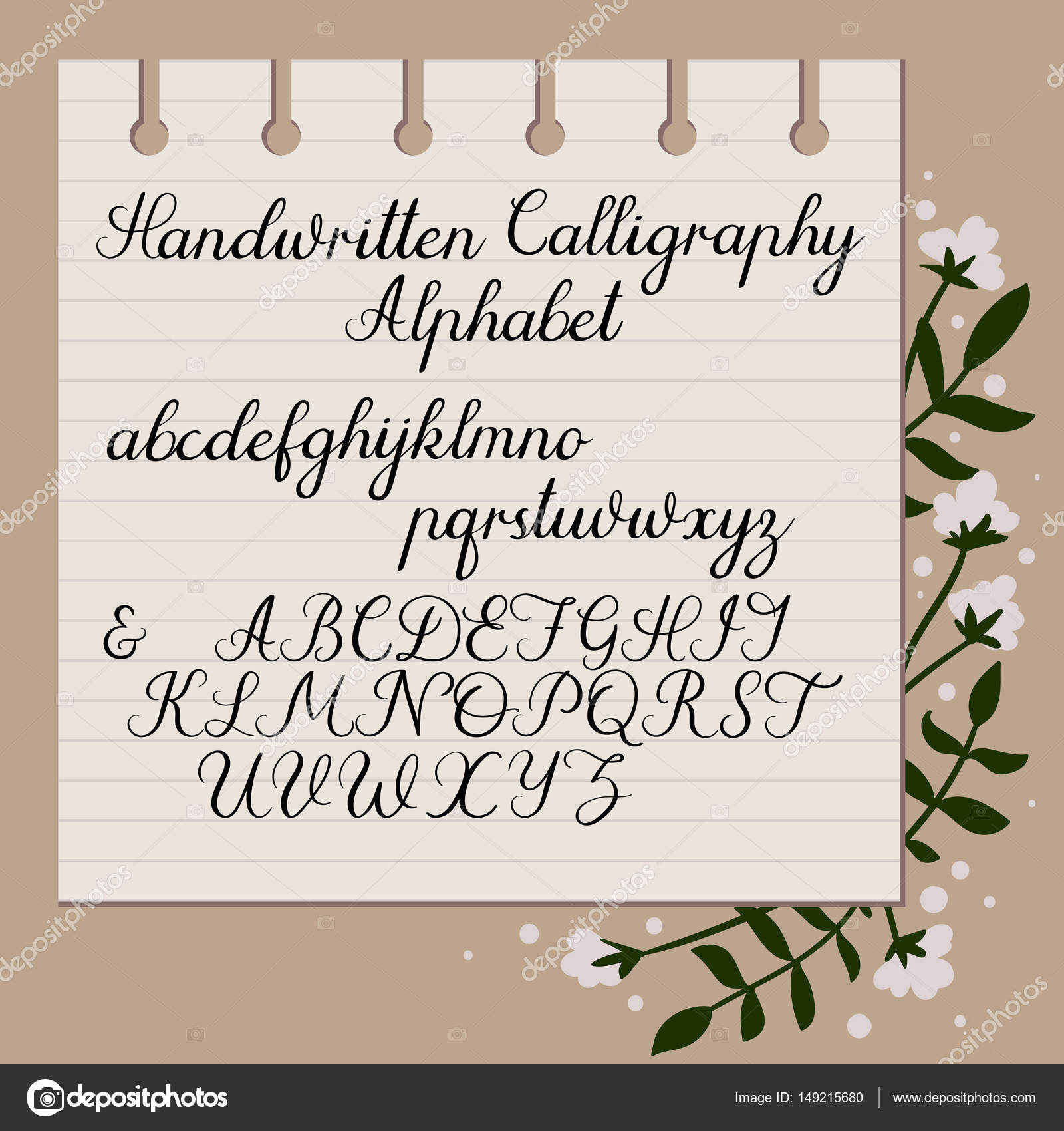 Calligraphy Capital Letters For Beginners