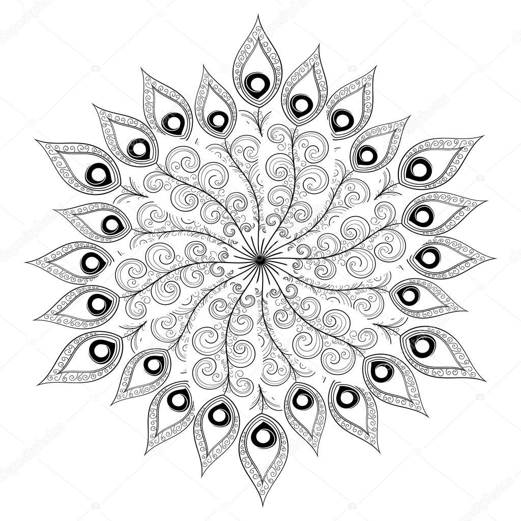 Gro Malvorlagen Ornamente Zeitgenssisch Druckbare