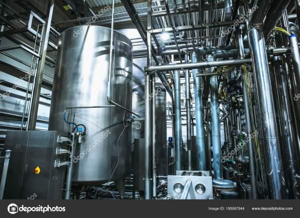Пивоваренное оборудование из нержавеющей стали: большие ...