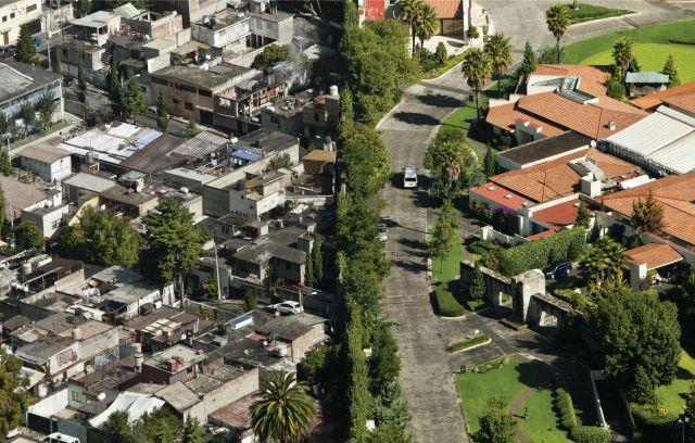 barrio rico, barrio pobre': estas imágenes (sin photoshop ...