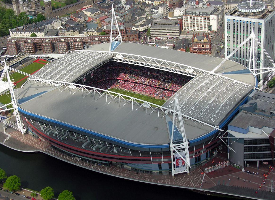 Principality Stadium de Cardiff, Gales / Flickr/Max Montagut