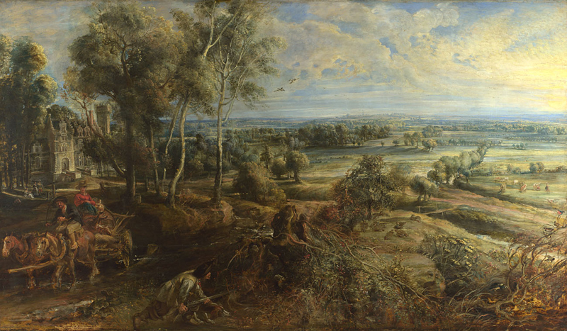 'A View of Het Steen in the Early Morning'