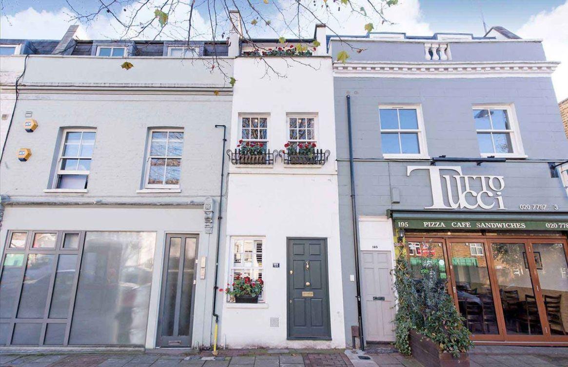 'Casa ultradelgada' de Londres