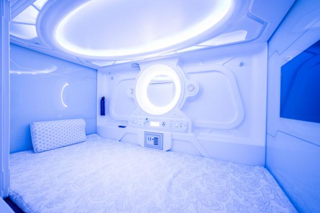 El precio es de 24,95 euros por noche en la cabina individual y 34,95 euros en la habitación doble / Optimi rooms