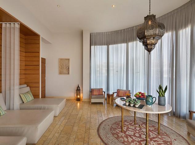 Una decoración minimalista y de lujo