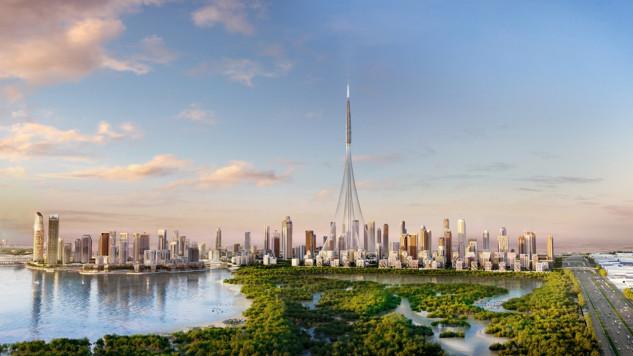 Panorámica de Dubai Creek Harbour / Emaar.com