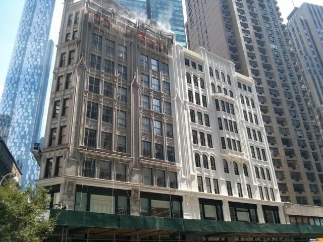 Bloque de pisos en Nueva York (EEUU)