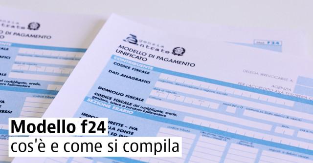 F24 Elide 2019 Istruzioni Compilazione E Codice